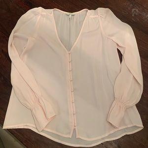 Joie light pink blouse